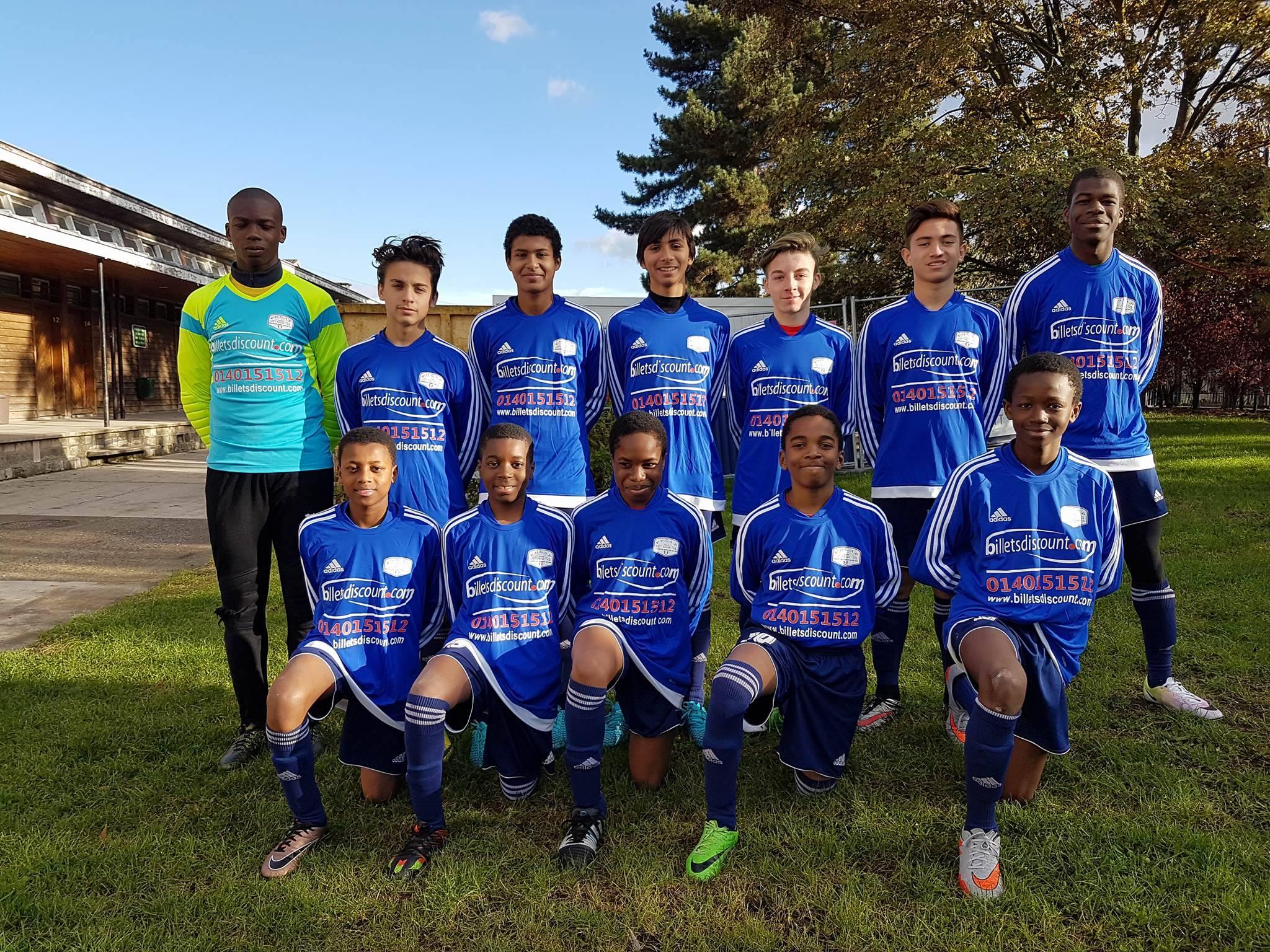Equipe U15 A 20162017