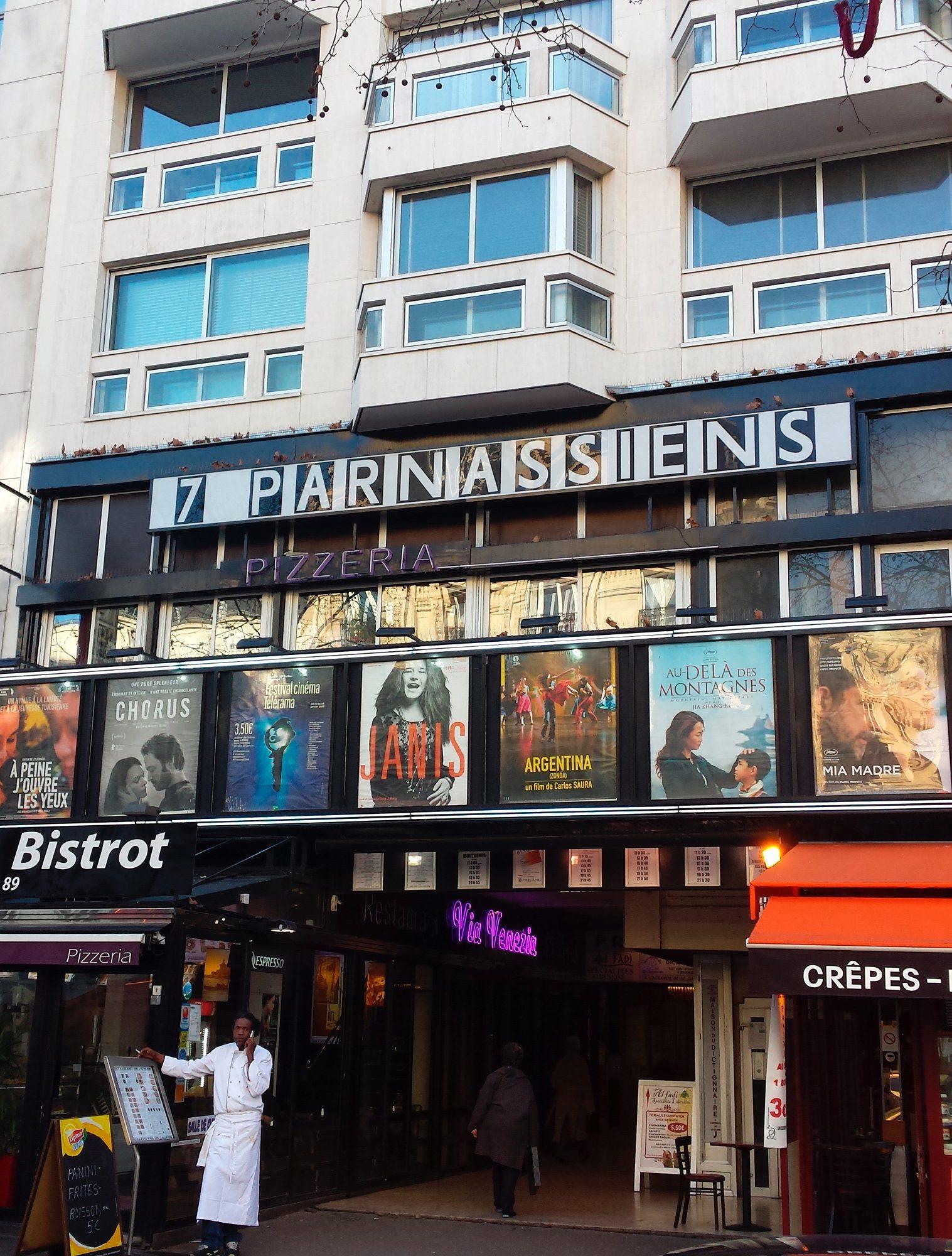 Cinéma les 7 Parnassiens