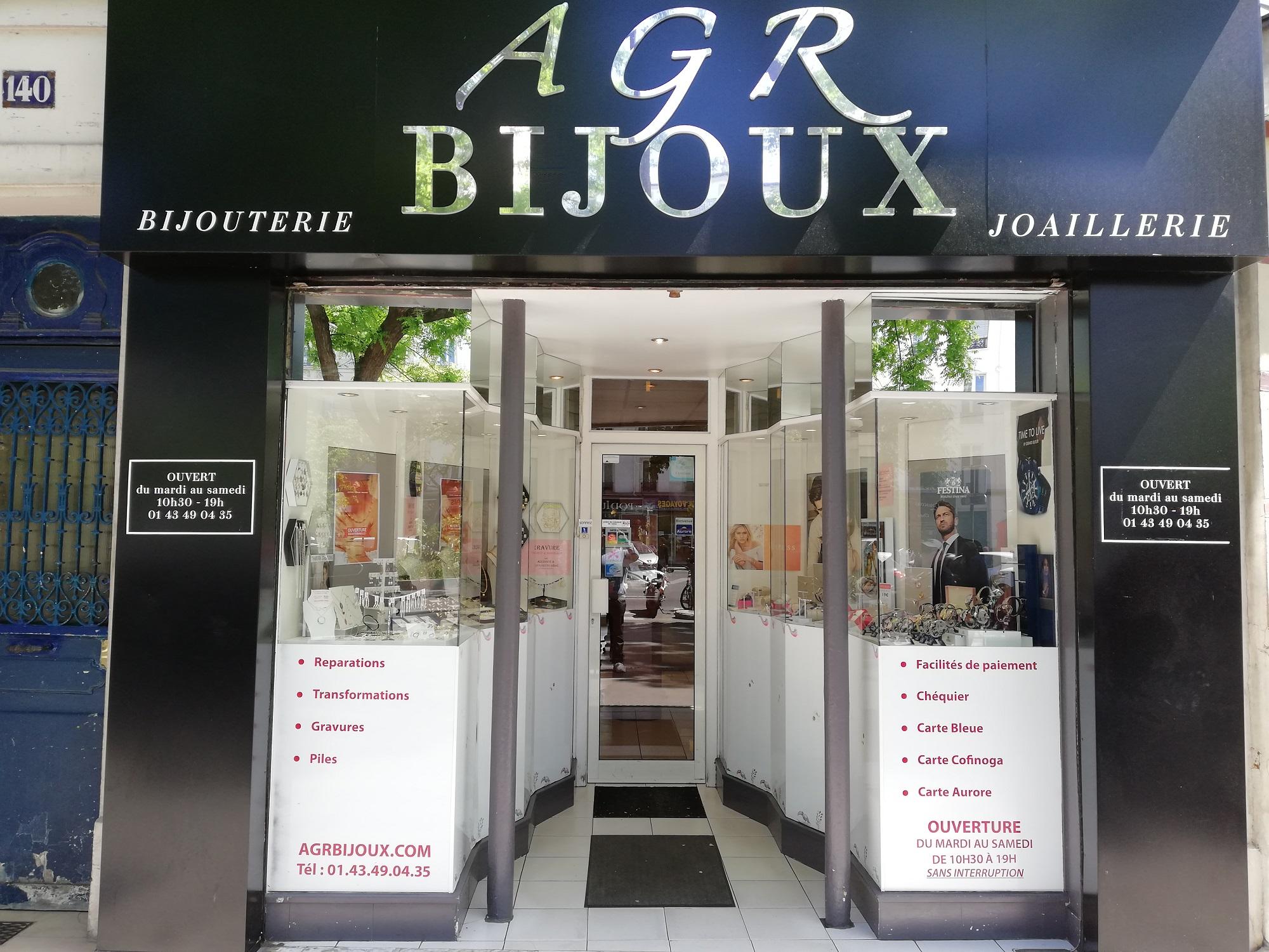 La boutique AGR Bijoux